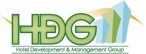 Logo for HDG Hotel Development & Management Group