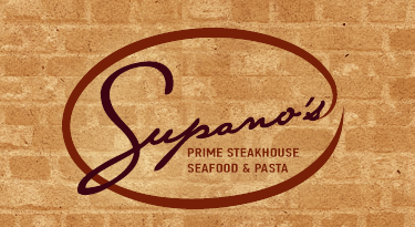 Logo for Supano's Prime Steakhouse