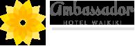 Logo for Ambassador Hotel Waikiki