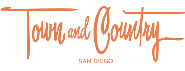 Logo for Town and Country San Diego