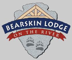 Logo for Bearskin Lodge on the River