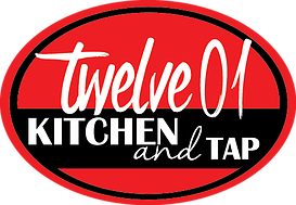 Logo for Twelve01 Kitchen and Tap