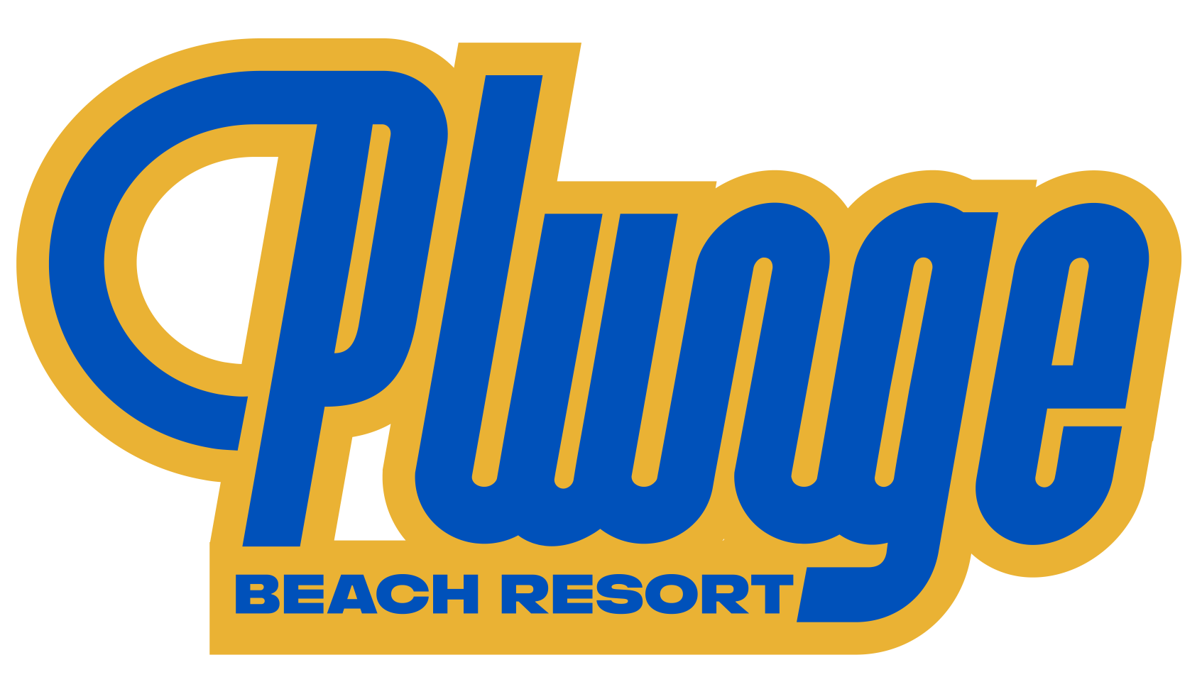 Logo for Plunge Beach Resort