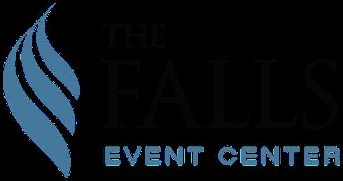 Logo for The Falls Event Center, Roseville CA