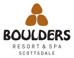 Logo for Boulders Resort & Spa Scottsdale, Curio Collection by Hilton