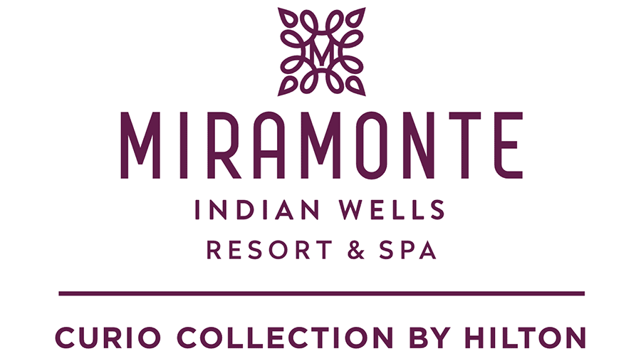 Logo for Miramonte Indian Wells Resort & Spa, a Curio Collection by Hilton