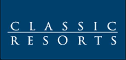 Logo for Classic Resorts