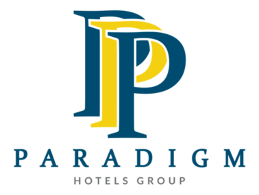 Logo for Paradigm Hotels Group