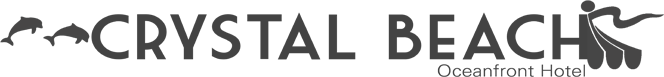 Logo for Crystal Beach Oceanfront Hotel