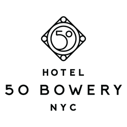 Logo for Hotel 50 Bowery