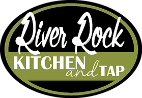 Logo for River Rock Kitchen and Tap