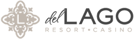 Logo for del Lago Resort & Casino