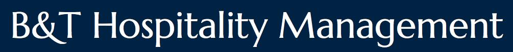 Logo for B&T Hospitality Management