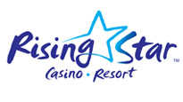 Logo for Rising Star Casino Resort