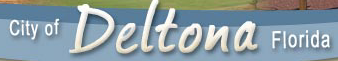 Logo for City of Deltona