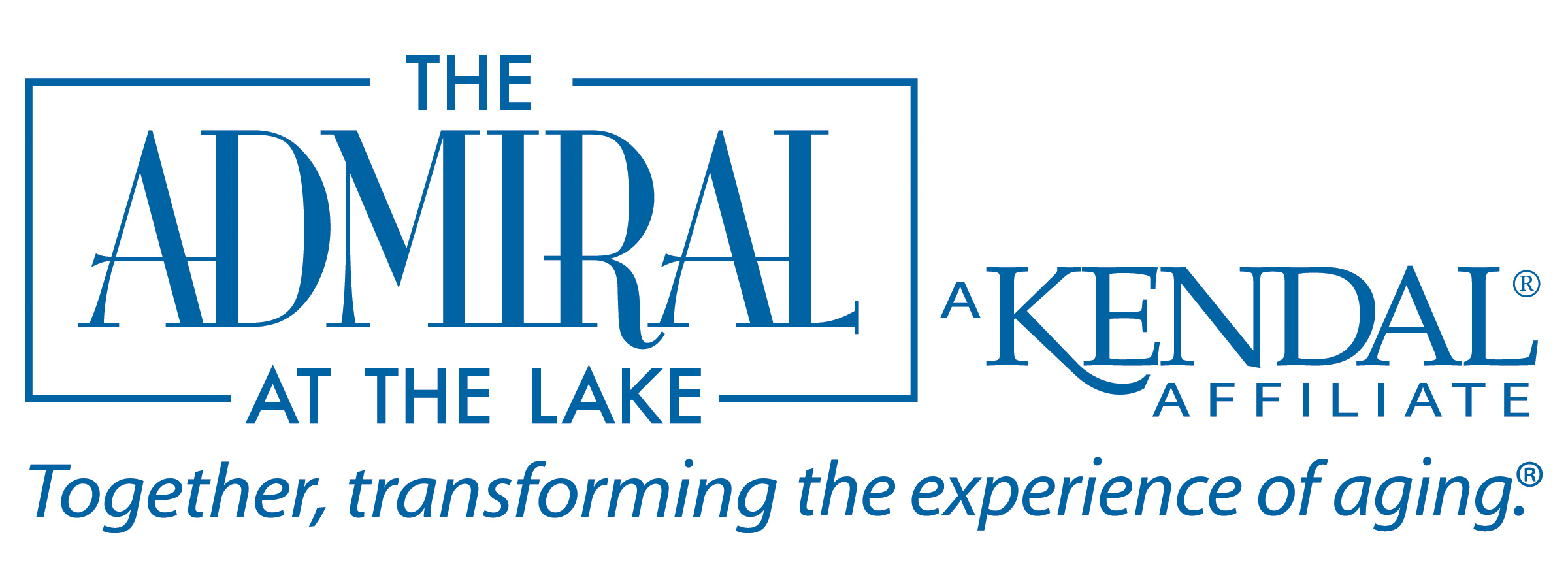 Logo for The Admiral at the Lake