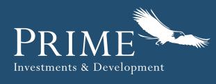 Logo for Prime Investments & Development
