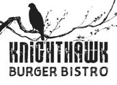 Logo for KnightHawk Burger Bistro