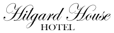 Logo for Hilgard House Hotel