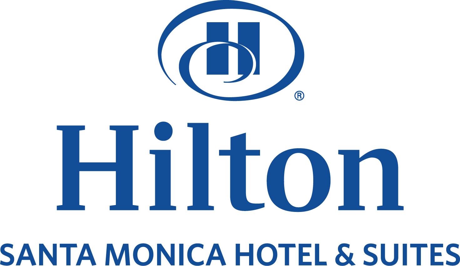 Logo for Hilton Santa Monica