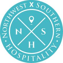 Logo for Northwest x Southern Hospitality