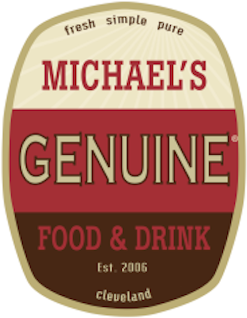 Logo for Michael's Genuine Food & Drink Cleveland
