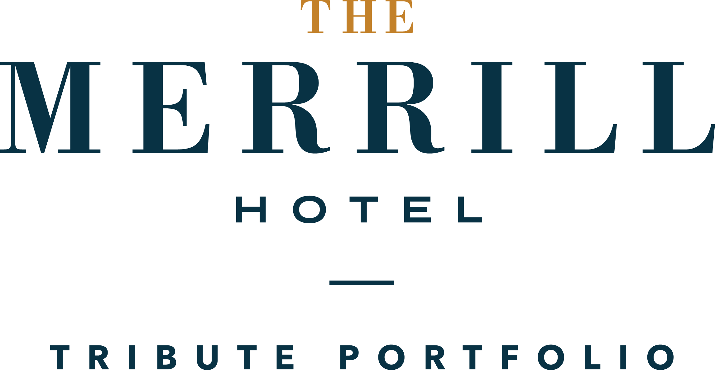 Logo for The Merrill Hotel, Muscatine, A Tribute Portfolio Hotel