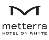 Logo for Metterra Hotel on Whyte