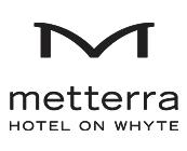Logo for Metterra Hotel on Whyte