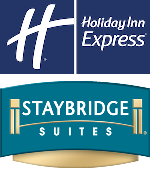 Logo for Staybridge Suites and Holiday Inn Express Boston Quincy