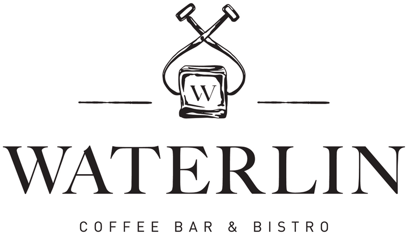 Logo for Waterlin Coffee Bar & Bistro