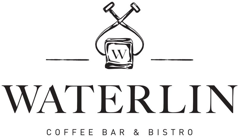 Logo for Waterlin Coffee Bar & Bistro