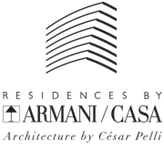 Logo for Residences by Armani Casa