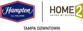 Logo for Hampton Inn & Home2 Suites by Hilton Tampa Downtown Channel District