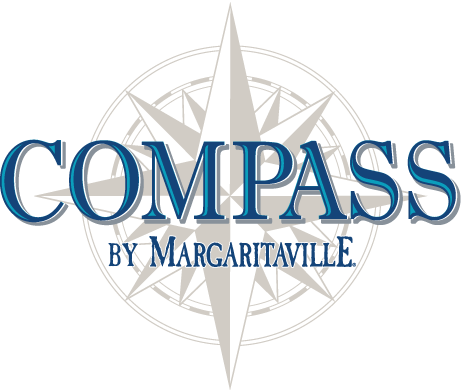Logo for Compass Hotel by Margaritaville and Floridays Woodfire Grill & Bar