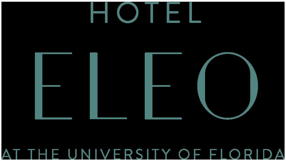 Logo for Hotel Eleo at the University of Florida