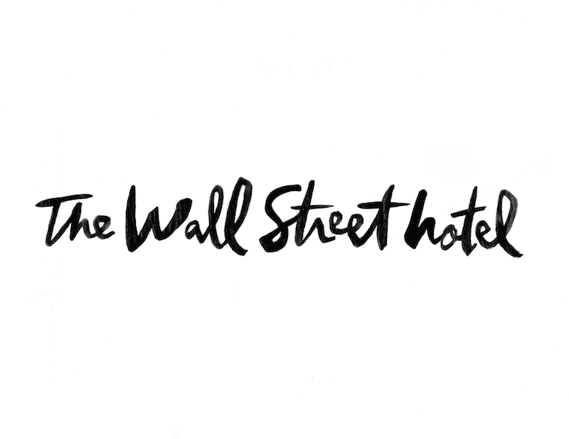 Logo for The Wall Street Hotel