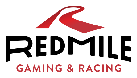 Logo for Red Mile Gaming and Racing