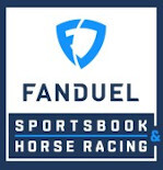 Logo for Fanduel Sportsbook and Horse Racing
