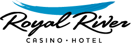 Logo for Royal River Casino Hotel