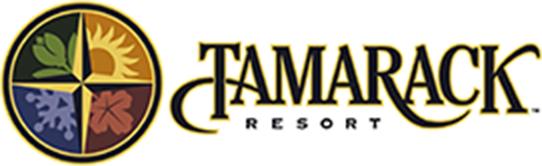 Logo for Tamarack Resort