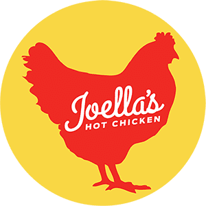 Logo for Joella's Hot Chicken - Carmel