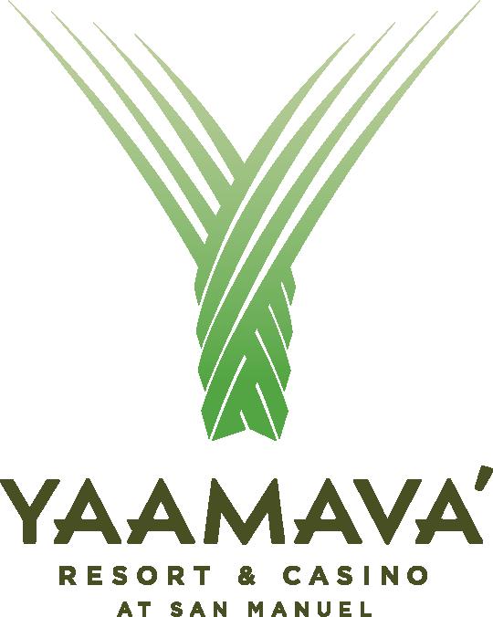 Logo for Yaamava Resort & Casino at San Manuel