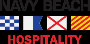 Logo for Navy Beach Hospitality