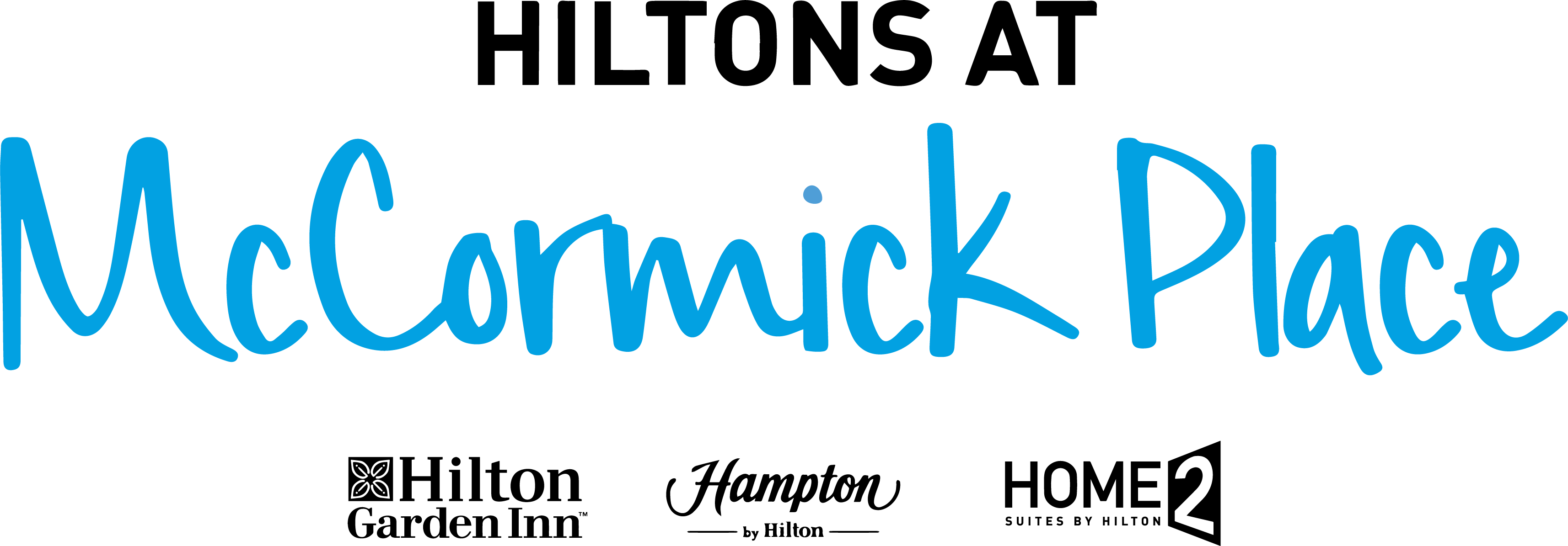 Logo for Hiltons at McCormick Place