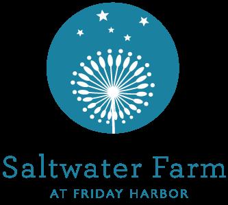 Logo for Saltwater Farm at Friday Harbor