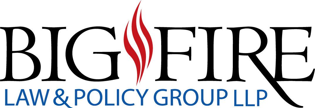 Logo for Big Fire Law & Policy Group LLP