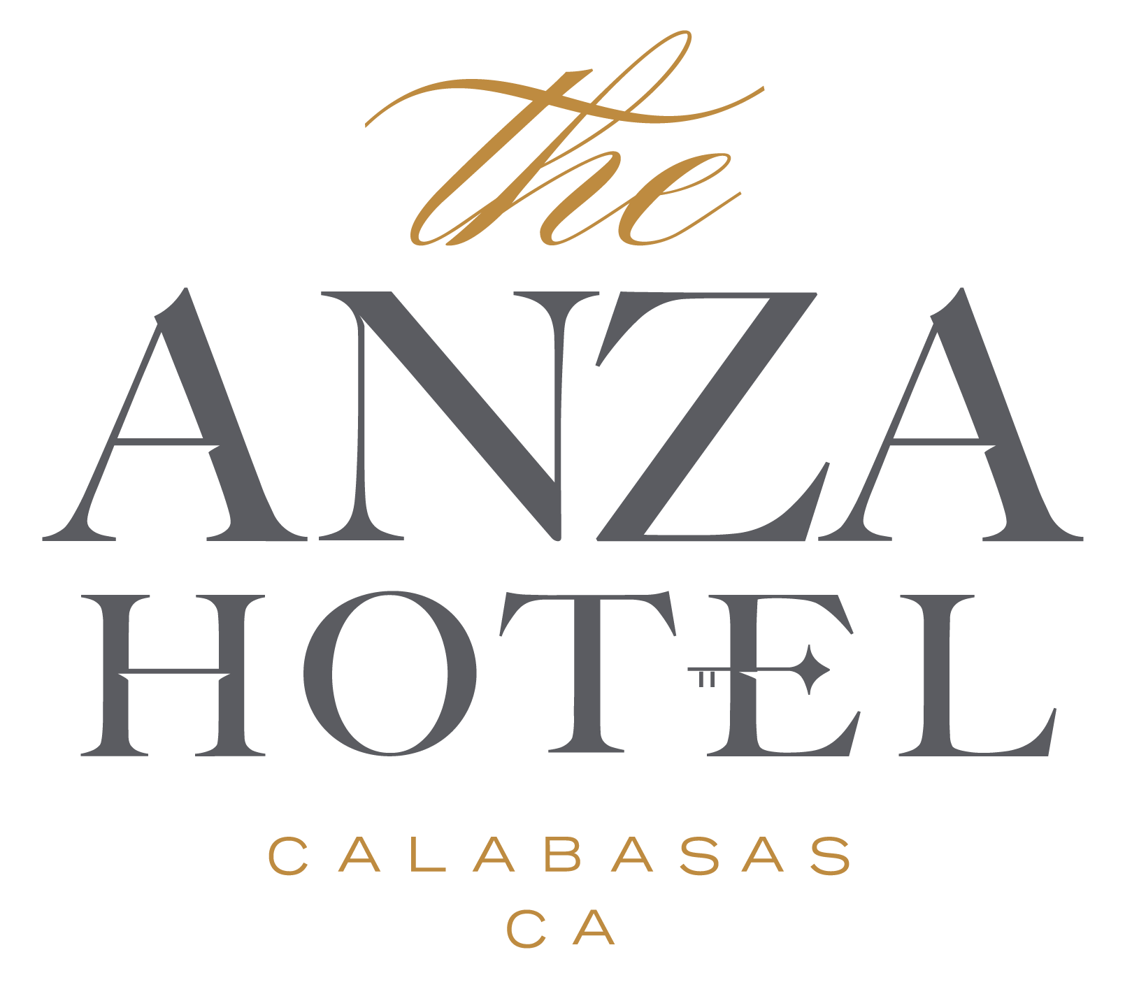 Logo for The Anza, a Calabasas Hotel