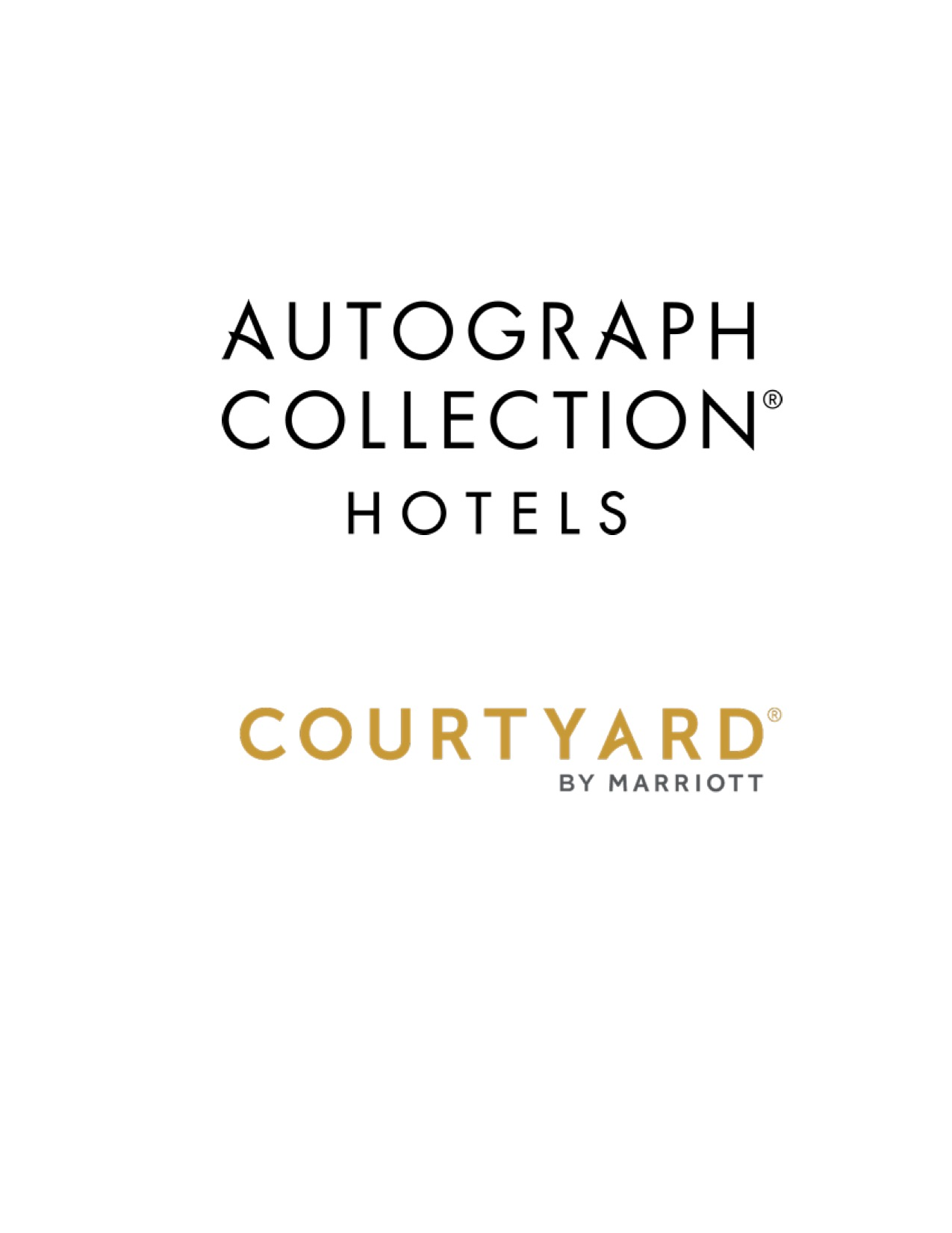 Logo for Autograph Collection/Courtyard by Marriott Hotel