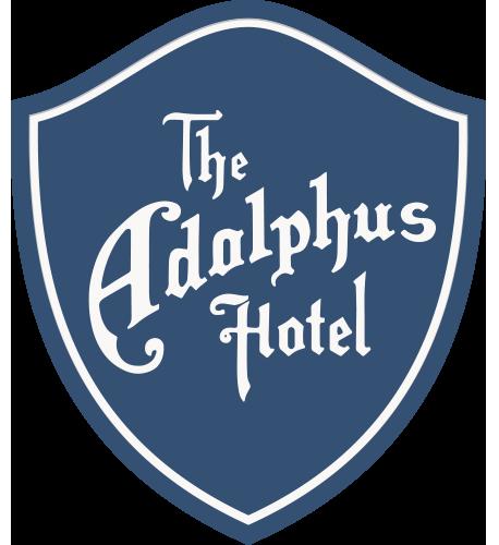 Adolphus logo blue